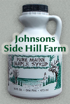 Johnsons Maple Syrup for Sale