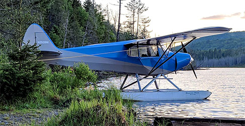 Bob Johnsons Seaplane